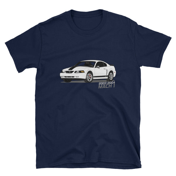 Oxford White Mach 1 Unisex T-Shirt Oxford White Mach 1 Unisex T-Shirt - Automotive Army Automotive Army