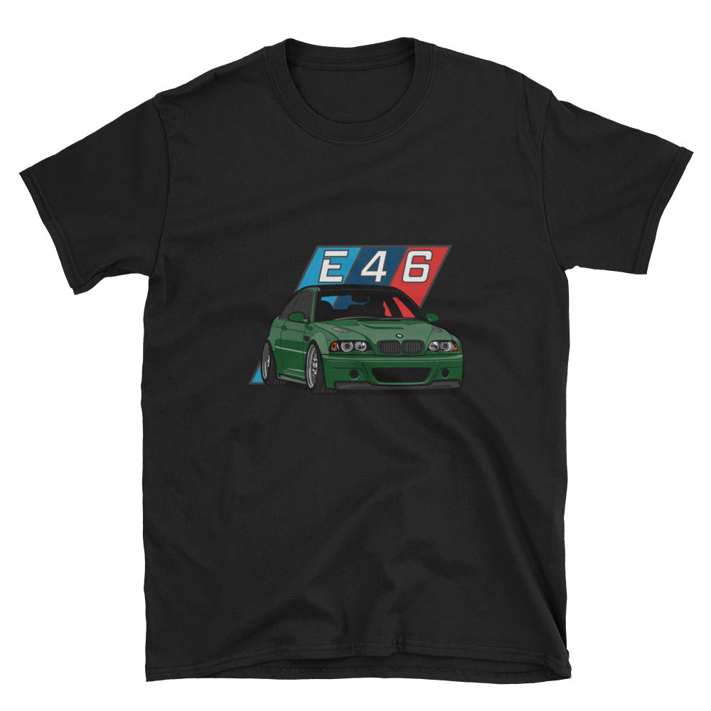 Oxford Green E46 Unisex T-Shirt Oxford Green E46 Unisex T-Shirt - Automotive Army Automotive Army