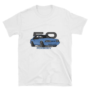 Light Blue Hatchback Unisex T-Shirt