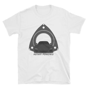 Black FD Rotary Powered Unisex T-Shirt