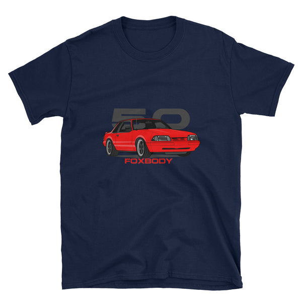 Red Notchback Unisex T-Shirt