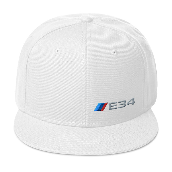 E34 Snapback Hat E34 Snapback Hat - Automotive Army Automotive Army