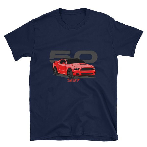 Torch/Race Red S197 Unisex T-Shirt