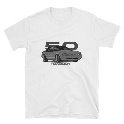 Dark Grey Notchback Unisex T-Shirt