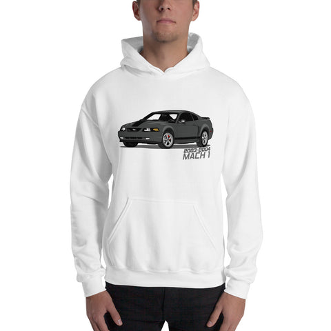 Black Mach 1 Hooded Sweatshirt