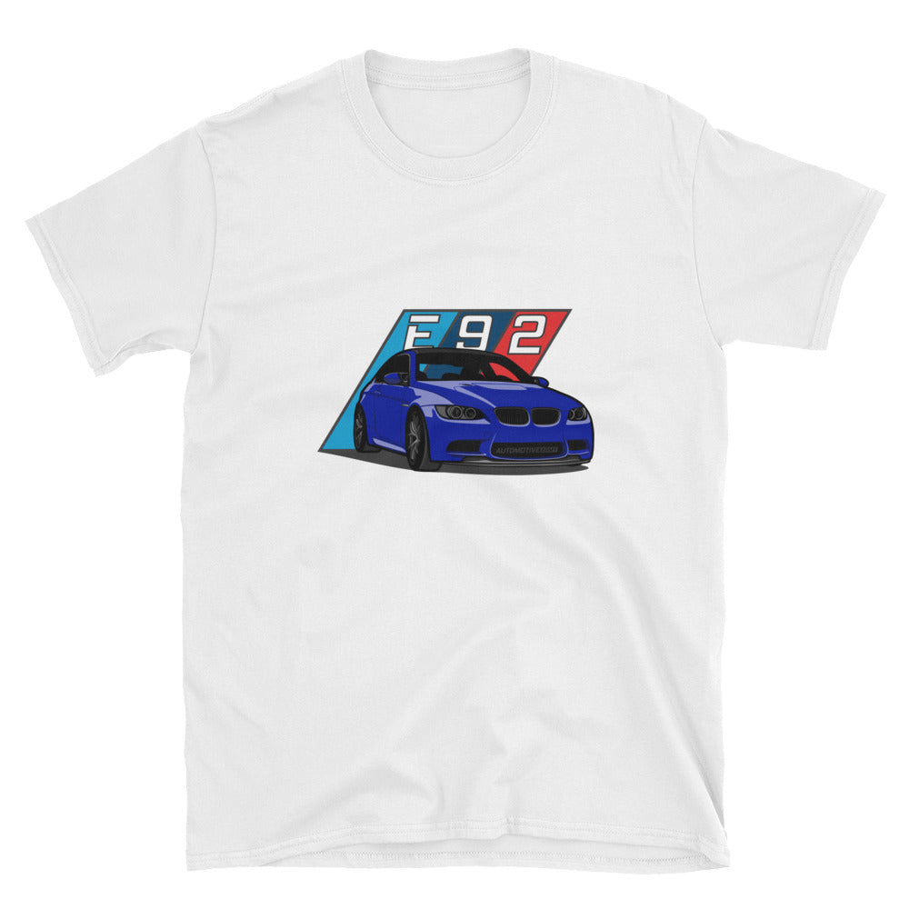 Blue E92 Unisex T-Shirt Blue E92 Unisex T-Shirt - Automotive Army Automotive Army