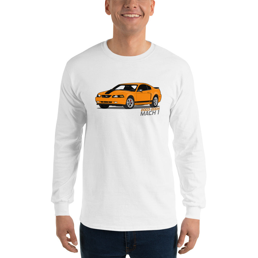 Competition Orange Mach 1 Long Sleeve