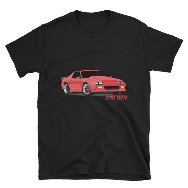 Red 3rd Gen Unisex T-Shirt Red 3rd Gen Unisex T-Shirt - Automotive Army Automotive Army