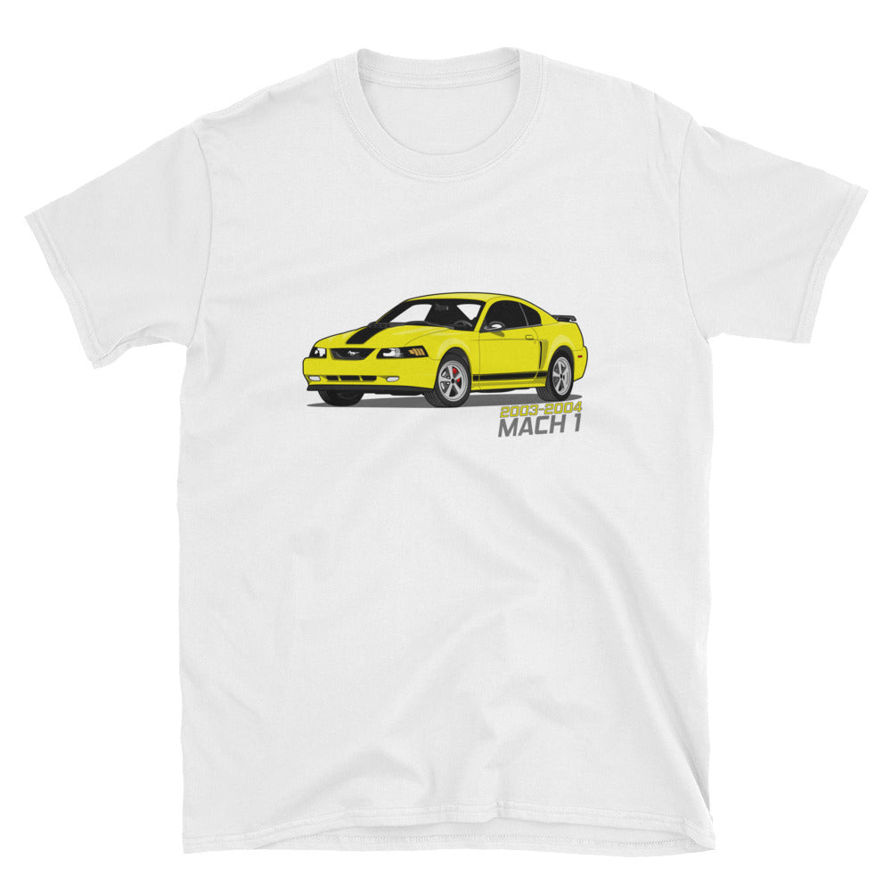 Zinc/Screaming Yellow Mach 1 Unisex T-Shirt