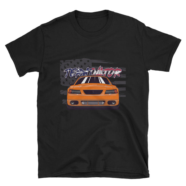 Competition Orange Terminator Unisex T-Shirt Competition Orange Terminator Unisex T-Shirt - Automotive Army Automotive Army