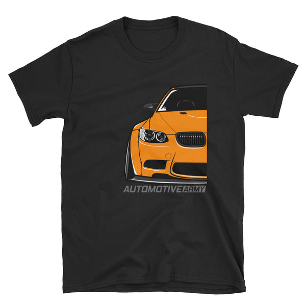 Orange E92 Widebody Unisex T-Shirt Orange E92 Widebody Unisex T-Shirt - Automotive Army Automotive Army
