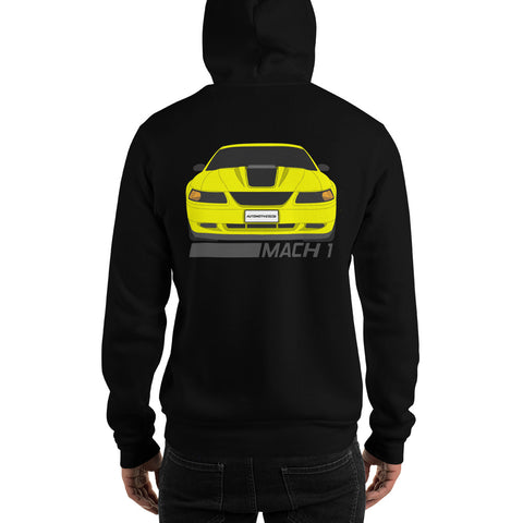 Zinc/Screaming Yellow Mach 1 Sweatshirt