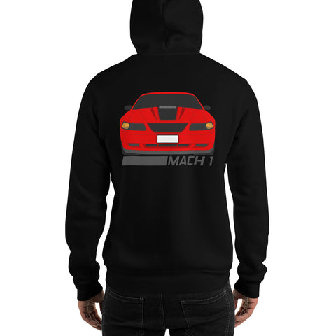 Torch Red Mach 1 Hooded Sweatshirt