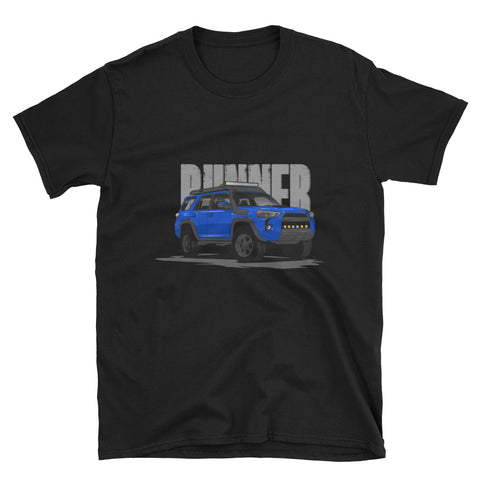 VooDoo Blue 5th Gen Runner Unisex T-Shirt