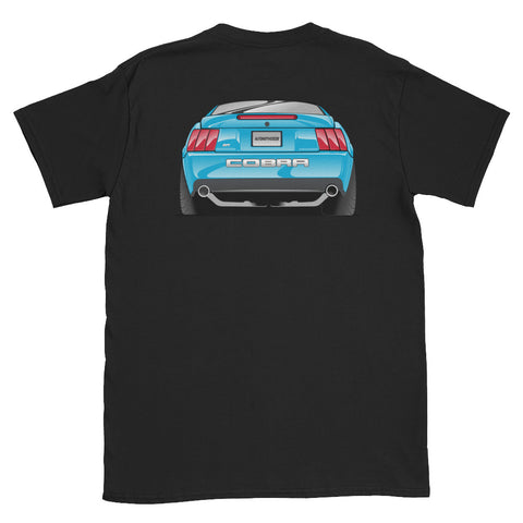 Grabber Blue Cobra Rear Unisex T-Shirt