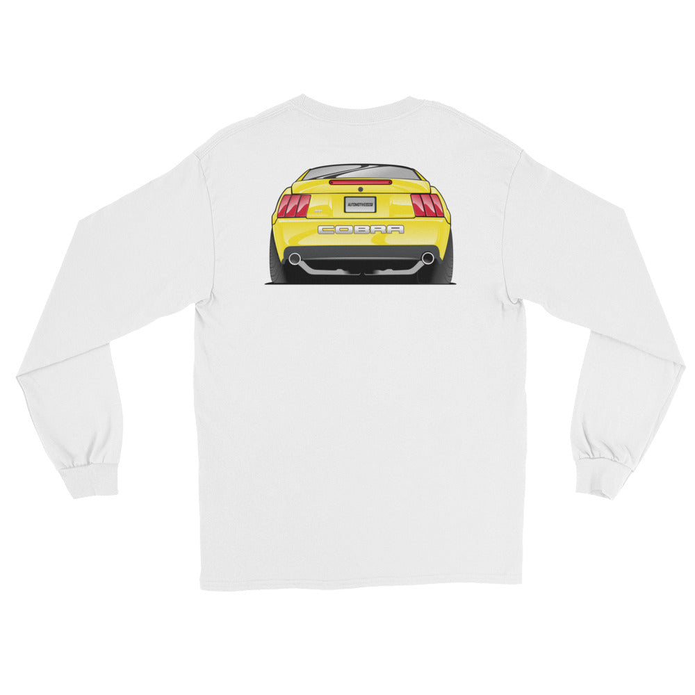 Zinc/Screaming Yellow Long Sleeve T-Shirt Zinc/Screaming Yellow Long Sleeve T-Shirt - Automotive Army Automotive Army