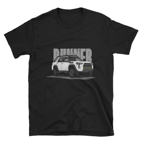 White 5th Gen Runner Unisex T-Shirt
