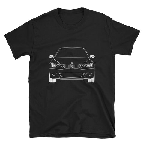 E60 Outline Unisex T-Shirt E60 Outline Unisex T-Shirt - Automotive Army Automotive Army