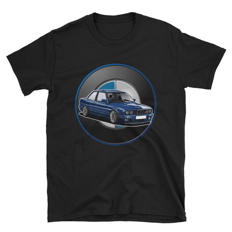 E30 Roundel Unisex T-Shirt E30 Roundel Unisex T-Shirt - Automotive Army Automotive Army