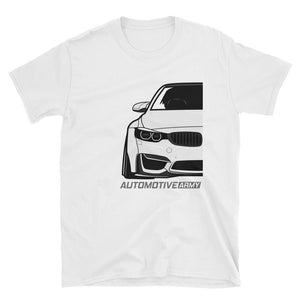 White F80/F82 Widebody Unisex T-Shirt White F80/F82 Widebody Unisex T-Shirt - Automotive Army Automotive Army