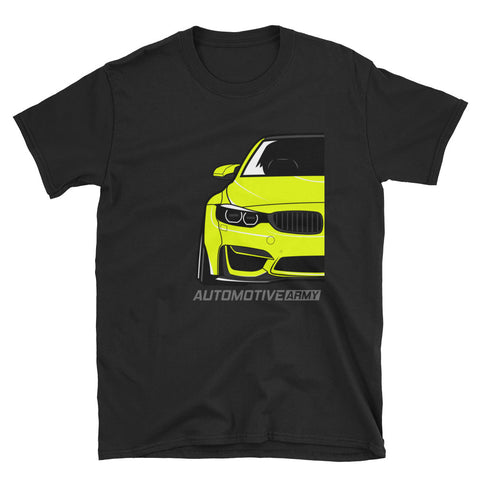 Yellow F80/F82 Widebody Unisex T-Shirt