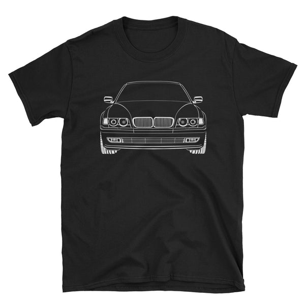 E38 Outline Unisex T-Shirt E38 Outline Unisex T-Shirt - Automotive Army Automotive Army