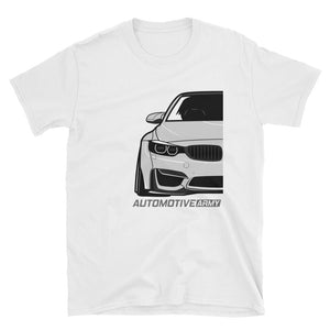 Silver F80/F82 Widebody Unisex T-Shirt Silver F80/F82 Widebody Unisex T-Shirt - Automotive Army Automotive Army