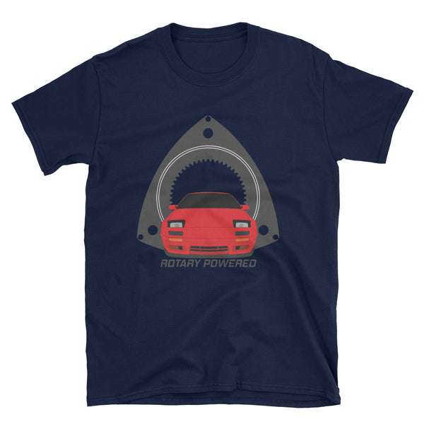 Red FC Rotary Powered Unisex T-Shirt