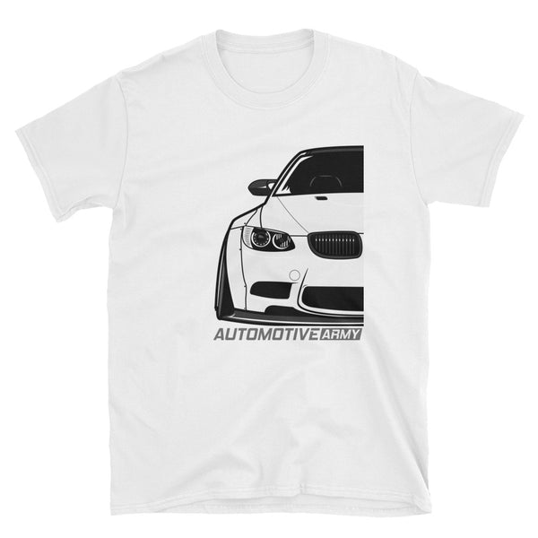 White E92 Widebody Unisex T-Shirt White E92 Widebody Unisex T-Shirt - Automotive Army Automotive Army
