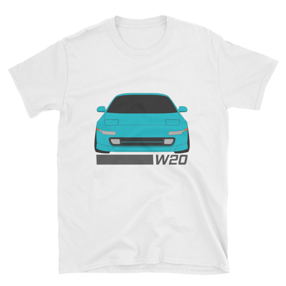 MR2 (W20) Turquoise Unisex T-Shirt MR2 (W20) Turquoise Unisex T-Shirt - Automotive Army Automotive Army