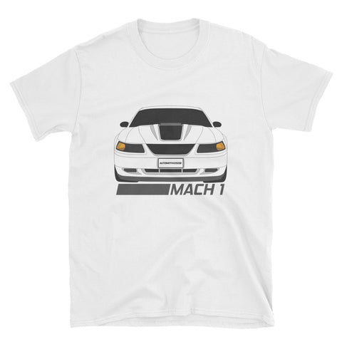 Oxford White Mach 1 Unisex T-Shirt