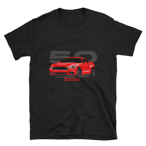 Torch Red S550 Unisex T-Shirt Torch Red S550 Unisex T-Shirt - Automotive Army Automotive Army