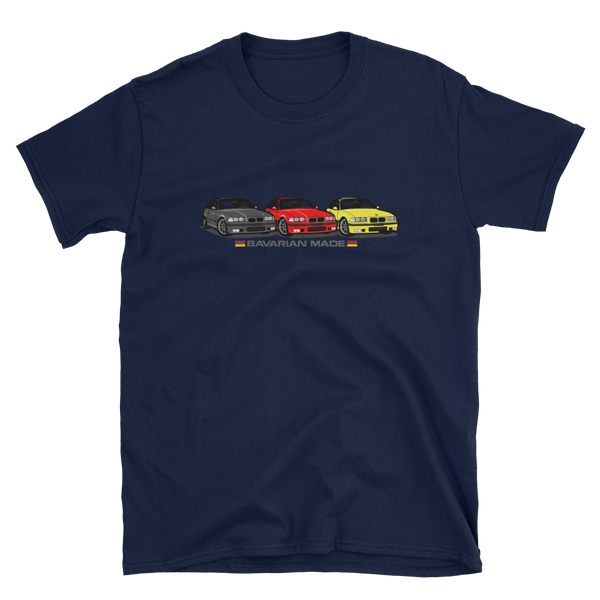 E36 Bavarian Made Unisex T-Shirt E36 Bavarian Made Unisex T-Shirt - Automotive Army Automotive Army