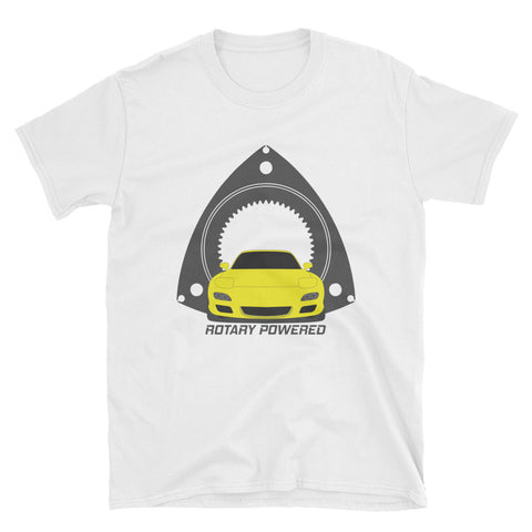 Yellow FD Rotary Powered Unisex T-Shirt
