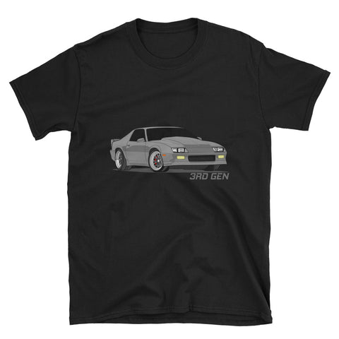 Grey 3rd Gen Unisex T-Shirt Grey 3rd Gen Unisex T-Shirt - Automotive Army Automotive Army
