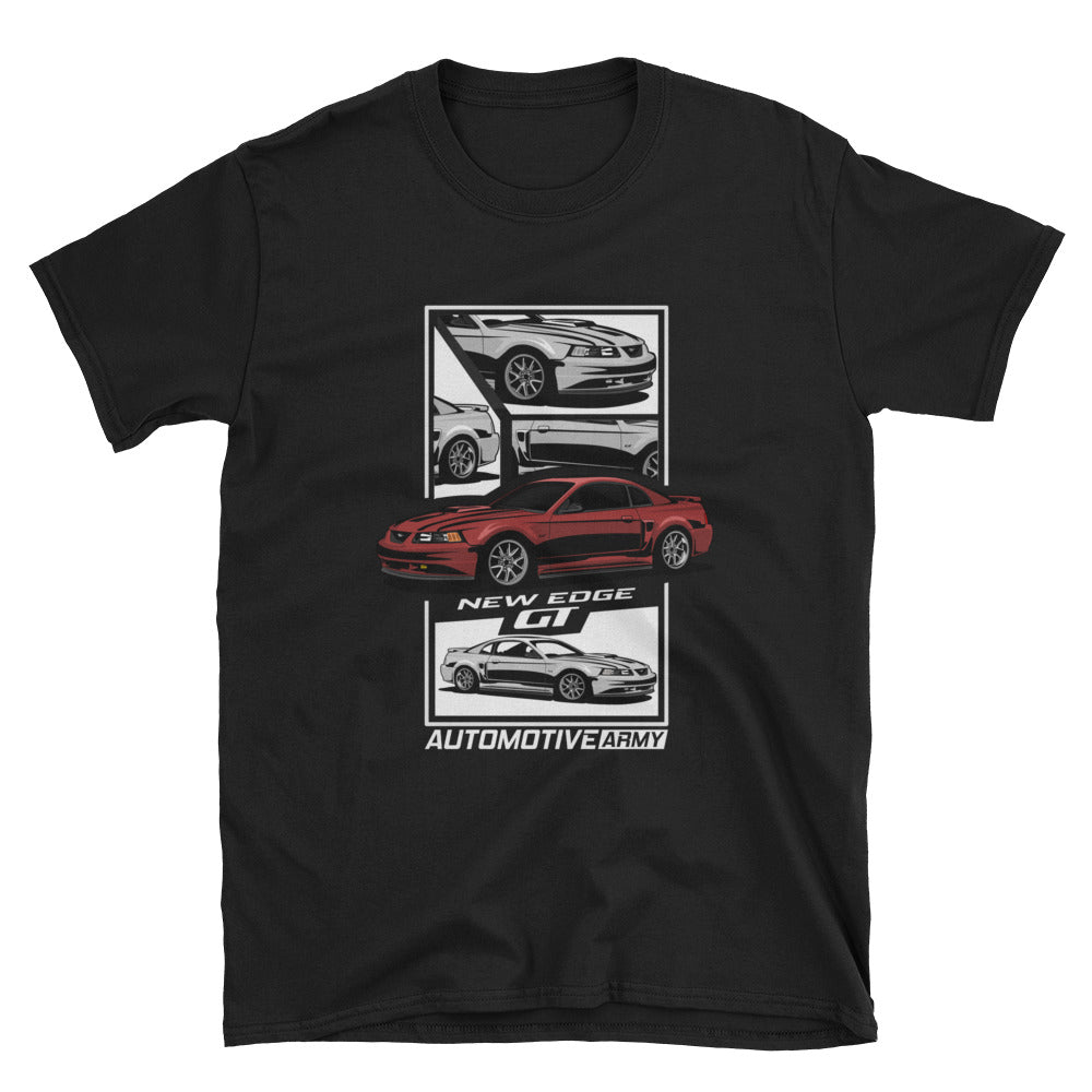 New Edge GT Camera Roll Unisex T-Shirt New Edge GT Camera Roll Unisex T-Shirt - Automotive Army Automotive Army