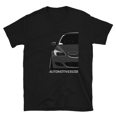 Black Slammed E60 Unisex T-Shirt Black Slammed E60 Unisex T-Shirt - Automotive Army Automotive Army