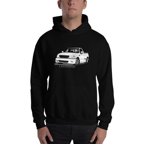 White Lightning Hooded Sweatshirt