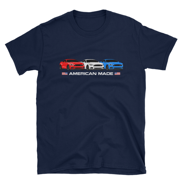 American Made S550 Unisex T-Shirt American Made S550 Unisex T-Shirt - Automotive Army Mustang Vibes