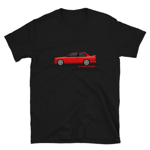 E30 Graphic Unisex T-Shirt E30 Graphic Unisex T-Shirt - Automotive Army Automotive Army