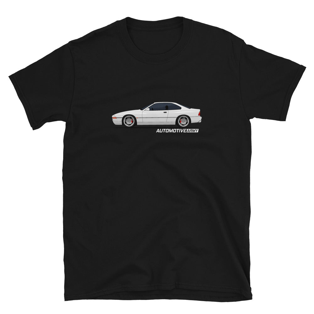 Gr-eight White Unisex T-Shirt Gr-eight White Unisex T-Shirt - Automotive Army Automotive Army
