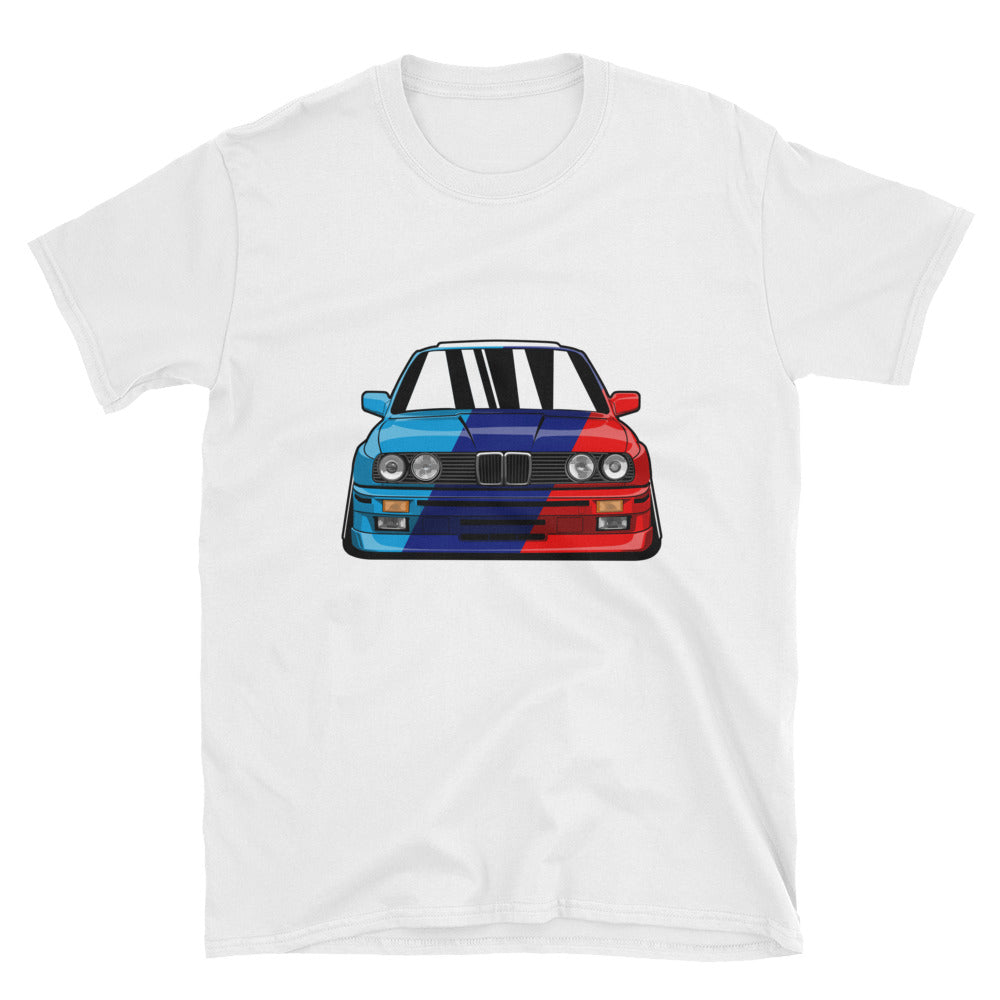 E30 Multicolor Unisex T-Shirt E30 Multicolor Unisex T-Shirt - Automotive Army Automotive Army