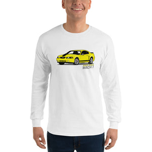 Zinc/Screaming Yellow Mach 1 Long Sleeve