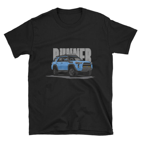 Cavalry Blue 5th Gen Runner Unisex T-Shirt