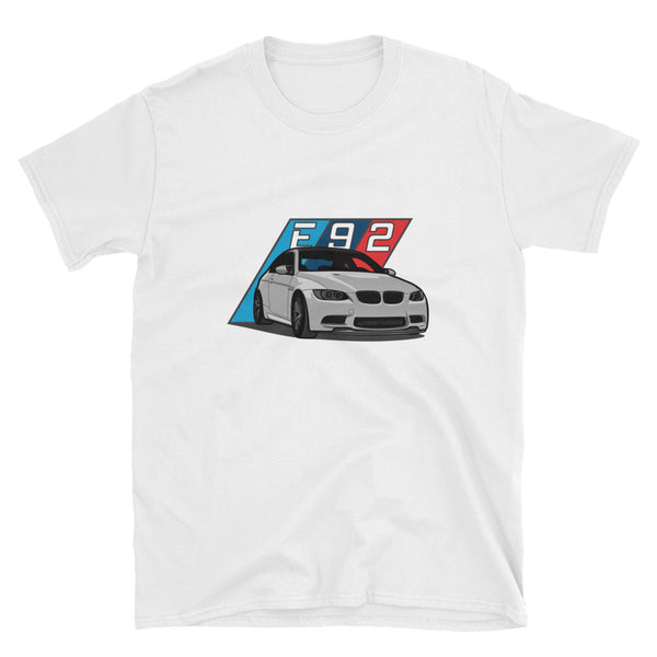 Silver E92 Unisex T-Shirt Silver E92 Unisex T-Shirt - Automotive Army Automotive Army