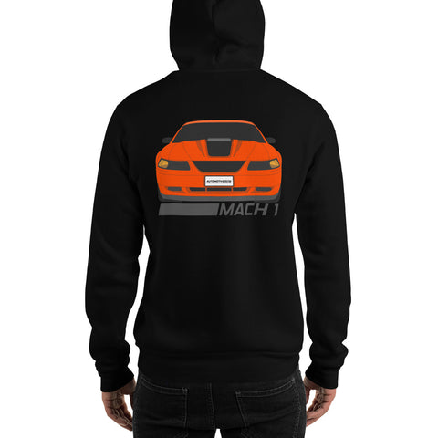 Competition Orange Mach 1 Hooded Sweatshirt