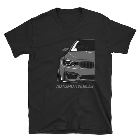 Grey F80/F82 Widebody Unisex T-Shirt Grey F80/F82 Widebody Unisex T-Shirt - Automotive Army Automotive Army