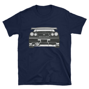 R34 Rear Silhouette Unisex T-Shirt R34 Rear Silhouette Unisex T-Shirt - Automotive Army Automotive Army