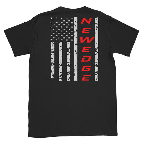 Newedge Flag Unisex T-Shirt Newedge Flag Unisex T-Shirt - Automotive Army Automotive Army