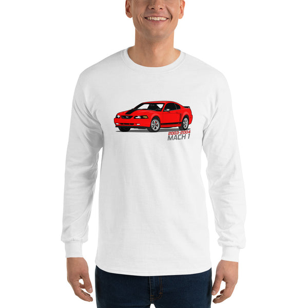 Torch Red Mach 1 Long Sleeve Torch Red Mach 1 Long Sleeve - Automotive Army Automotive Army